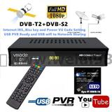 DVB-T2 DVB-S2 COMBO C5 YOUTUBE Network Sharing  HD Decoder